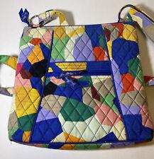 Vera Bradley Pop Art Hipster Crossbody Shoulder Bag Purse Lined Zipper Closure