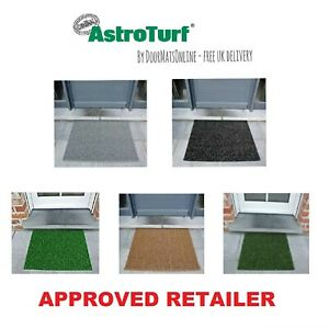 REAL Astro Turf Outdoor Forest Classic Green Slate Silver Grey Cocoa Door Mats