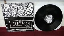 """THE REPOS Self Titled 12"""" LP Black Vinyl Youth Attack/Fork Burn Records Hardcore"""