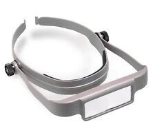 Donegan Tan OptiSight® Binocular Magnifying Visor Set w/3, 4, & 5 Power Lenses