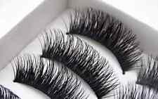 NEW BEST! 5 Pairs Long Thick Handmade Makeup Fake False Eyelashes  Eye Lashes