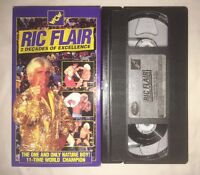 "WCW Ric Flair ""Two Decades of Excellence"" (VHS, 1995) NWO WWF WWE NWA NON RENTAL"