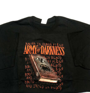 Army Of Darkness T-Shirt Size XL NOS Horror Movie Zombies