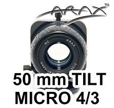 ARAX 50 mm TILT/SHIFT Fixed/Prime Lens Film Digital MICRO 4/3 Olympus PEN, LUMIX