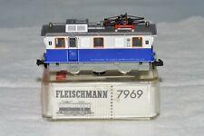 N Scale Fleischmann 7969 White & Blue TAL EDELWEISSE Electric Track Cleaning Car
