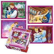 Trefl 4 en 1 35 + 48 + 54 + 70 pièce filles enfants disney princesses puzzle