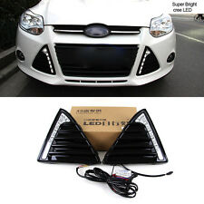 LUCI DIURNE LED FORD FOCUS 2012-2014 BIANCHE 6000K