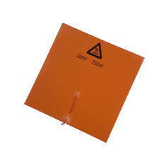 750W 220V 300x300mm Silicone Heat Pad Heating Mat Hot Bed For 3D Printer
