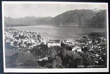 Switzerland~1920's LOCARNO - MURALTO ~TICINO  RPPC