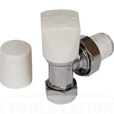 NEW water central heating Radiator angled Valve pipe fitting 10mm CP BS864/2
