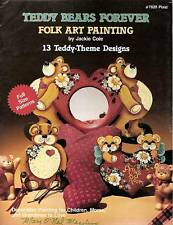 Jackie Cole : TEDDY BEARS FOREVER Painting Book OOPS!