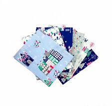 Christmas fat quarter bundle, Xmas bundle, Christmas Craft Set, Xmas Crafts