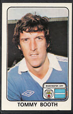 Panini 1979 Football Sticker - No 219 - Tommy Booth - Manchester City
