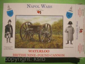 1:32 Figuren Call to Arms #23 Napoleon Britische Kanone 9 Pfünder Waterloo etc.