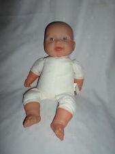 "Dolls By Berenguer Plush Body Baby Doll Soft Plastic 15"" Head Limbs"