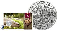 Österreich 10 Euro Silber 2013 Hgh Bundeslandserie Österreich: Niederösterreich