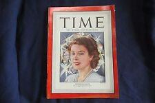 Time Magazine, March 31, 1947, Queen Elizabeth