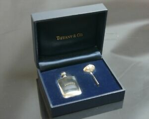 Authentic Tiffany & Co. Bottle perfume atomizer  Sterling Silver #5211
