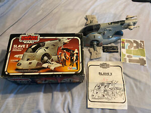 Vintage Star Wars Palitoy ESB Slave 1 Complete, Boxed & Instructions