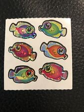 Sandylion Vintage stickers - Sparkly Big Eyed Fish