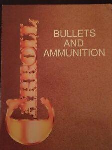 Carrol Bullets And Ammunition Catalog/ Brochure, Lead Pistol Bullets