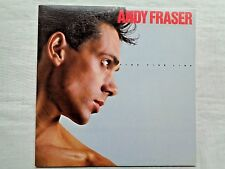 Andy Fraser Fine Fine Line 1984 Island 90153 Orig. 1st Townhouse Promo Press NM-