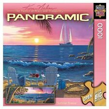 Meisterwerke Künstler Panorama Sommerbrise 1000 PC Puzzle Künstlerin Kim Norlien