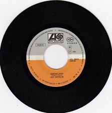 """LED ZEPPELIN DANCING DAYS / OVER THE HILLS... 1973 RECORD YUGOSLAVIA 7"""" SINGLE"""