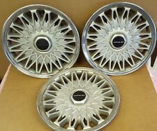 1993 Chrysler Concorde 15 inch hubcaps wheel covers (3)