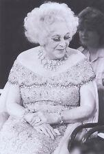 Foto barbara cartland-prensa foto grabación de 1987 escritora británica