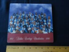 Vintage Dallas Cowboys Cheerleaders lenticular 3D Mouse pad picture 1997/98 NFL