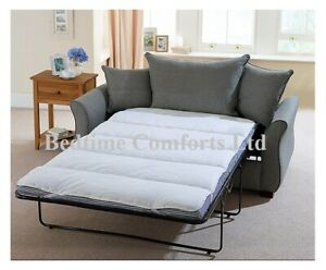 """SOFA BED / PULL OUT  """"QUILTED""""  Mattress TOPPER (Elasticated) VARIOUS LENGTHS"""
