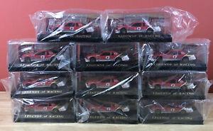 Set of 11 Legends of Racing Bill Elliott #9 Thunderbird NASCAR 1:43 Stock Cars