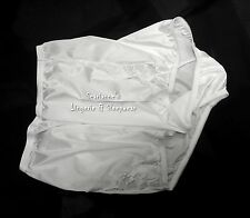 VANITY FAIR PERFECTLY YOURS LACE WHITE 13001/13801 NYLON BRIEFS PANTIES~8/XL~NEW