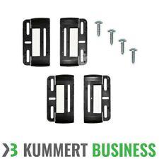 2x Kennzeichenhalter Rahmenlos Nummernschildhalter Kennzeichen Set Simple Fix