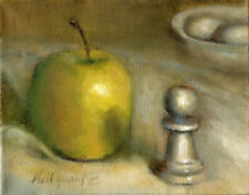 Chess Pawn  8x10 in. Oil stretched canvas  HALL GROAT II