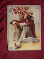 AMERICAN ARTIST July 1984 Everett Raymond Kinstler Mark Meunier Ann Sullivan