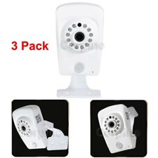 3x Security Camera HD Wireless IP WiFi Support SD Card 64G Baby Monitor Home WTZ