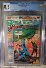DC Comics Presents #26 DC CGC 8.5 1st New Teen Titans Comic Book App. Newsstand