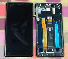 GENUINE BLACK NOKIA 3 HD IPS LCD DISPLAY 20NE1BW003 WITH FRAME TA-1020 TA-1032