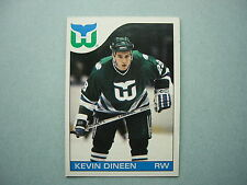 1985/86 O-PEE-CHEE NHL HOCKEY CARD #34 KEVIN DINEEN ROOKIE NM SHARP!! 85/86 OPC