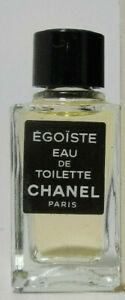 CHANEL EGOISTE EDT 4ML - MINI NB - COLLECTIBLE !!! RARE !!!