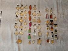 miniatures parfums lot 50 FLACONS sans boite dont 34 N. Ricci
