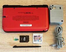 Nintendo 3DS XL w/ Custom Firmware, Games, 64GB SD card, Charger & Stylus BUNDLE
