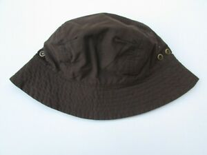 Janie and Jack 2T 3T NWT Parrot Cove Brown Blue Reversible Bucket Hat LF1