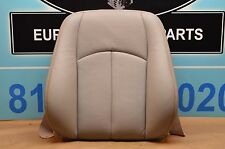 03-06 W211 MB E320 E500 FRONT LEFT DRIVER SEAT CUSHION TOP BACKREST GREY #2