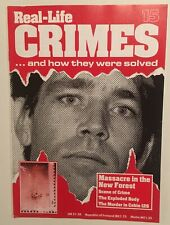 Real-Life Crimes Magazine 15 Mass Murderer George Stephenson New Forest Massacre