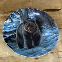 """""""The Grizzly Bear"""" Collector Plate by Paul Krapf  -Wild and Free Canada Big Game"""
