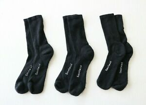Smartwool Everyday Crew Wool Socks, Size Large, 3 Pairs