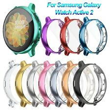 Electroplate TPU Watch Case Screen Protector For Samsung Galaxy Watch Active 2